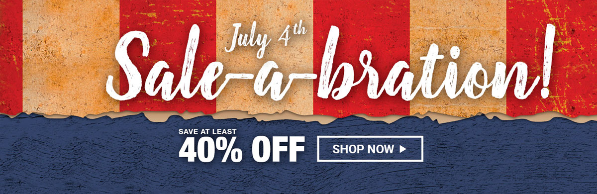 4th of july sale ads