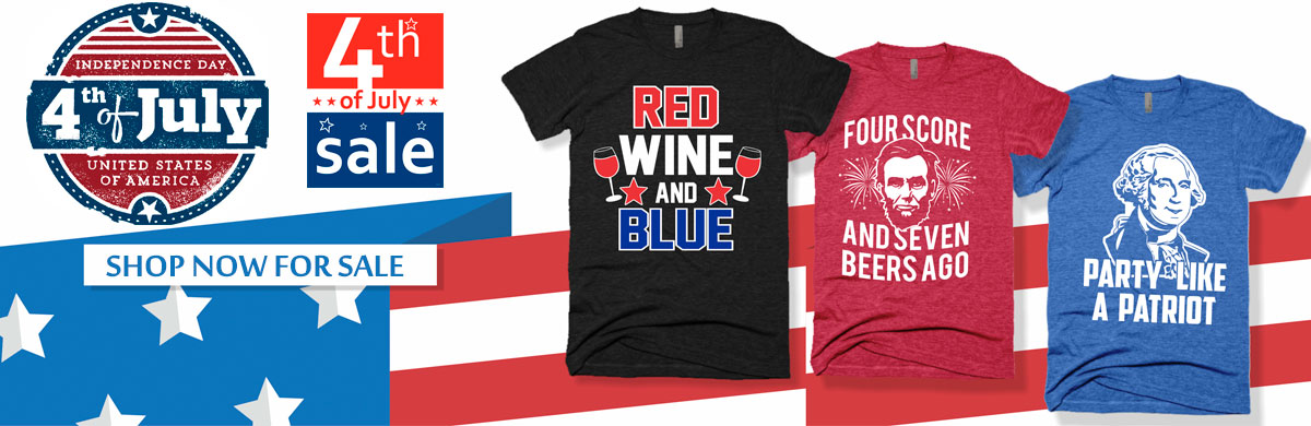 4th of July - shop t-shirts